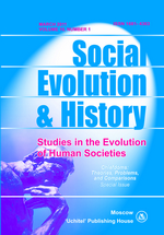Social Evolution & History. Volume 10, Number 1 / March 2011