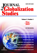 Journal of Globalization Studies. Volume 2, Number 1 / May 2011