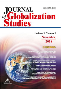Journal of Globalization Studies. Volume 9, Number 2 / November 2018
