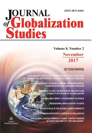 Journal of Globalization Studies. Volume 8, Number 2 / November 2017