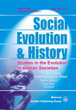 Social Evolution & History. Volume 8, Number 1 / March 2009